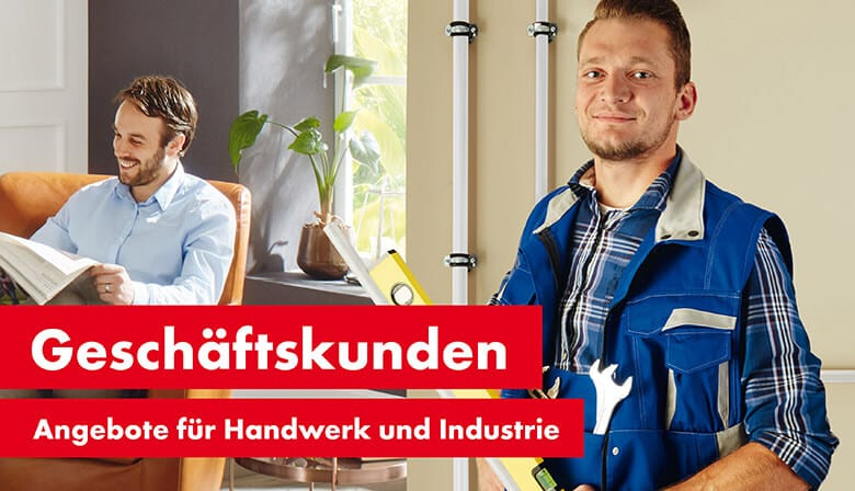 Geschäftskunden - Angebote für Handwerk & Industrie
